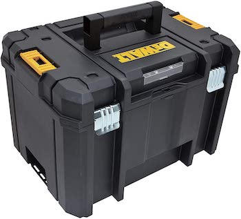 Dewalt deep toolbox with regular handle