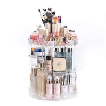 Dream genius rotating 360 makeup organizer