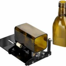 Fixm square and round glass bottle cutter