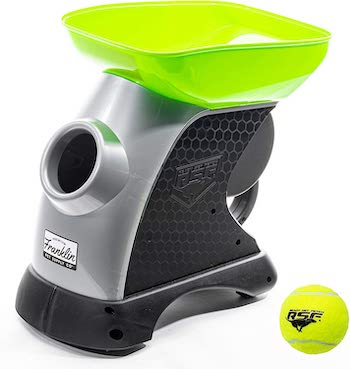 Franklin pet supply ready set fetch automatic tennis ball launcher