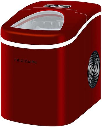 Frigidaire red compact ice maker
