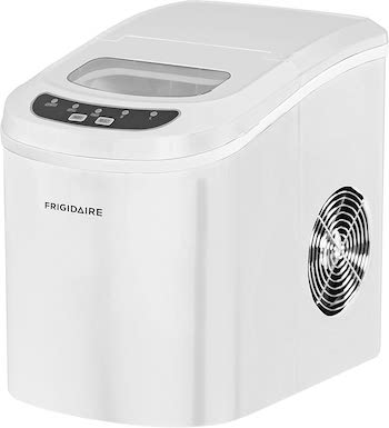 Frigidaire white portable compact ice maker