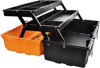 Ganchun 17 inch multi putpose 3 layer toolbox