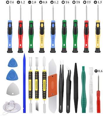 Gangzhibao 25 piece electronic repair tool kit