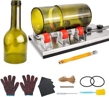 Henmi glass bottle cutting kit