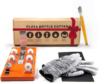 Hpst adjustable glass bottle cutter
