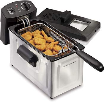 Hamilton beach deep fryer and basket