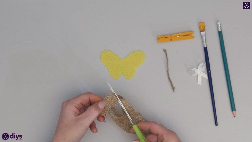 نحوه ساخت یک پروانه از گیره لباس مرحله 6b