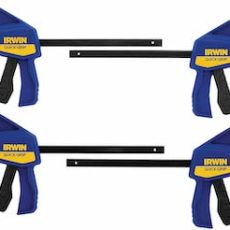 Irwin quick-grip clamps