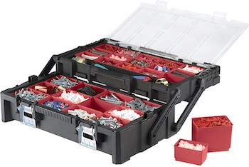 Keter 22 inch resin cantilever portable toolbox