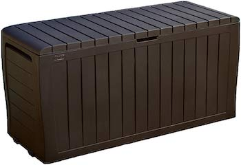 Keter marvel gallon resin outdoor storage box