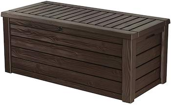 Keter weserwood wooden style deck box