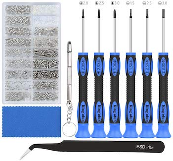 Kingsdun eyeglass repair tool kit
