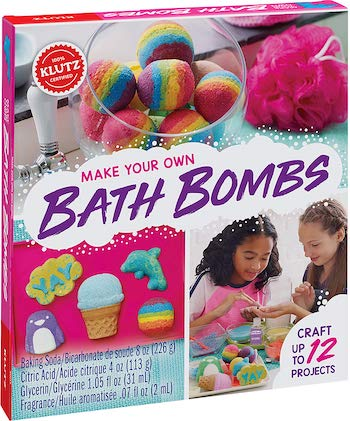 Klutz make your own bath bombs kit