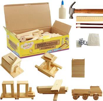 Kraftic diy carpentry set for kids