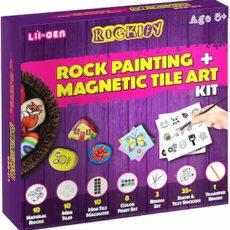 Li'l-Gen Magnetix Tile and Rock Painting kit