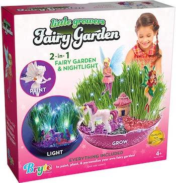 Little growers enchanted fairy garden and night light kit