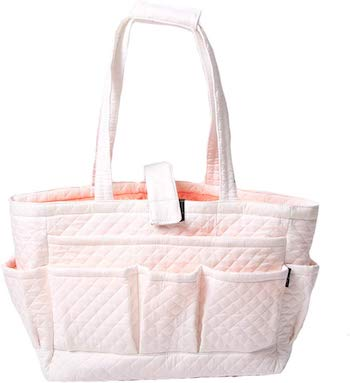Magou quilted cotton needle and yarn bag