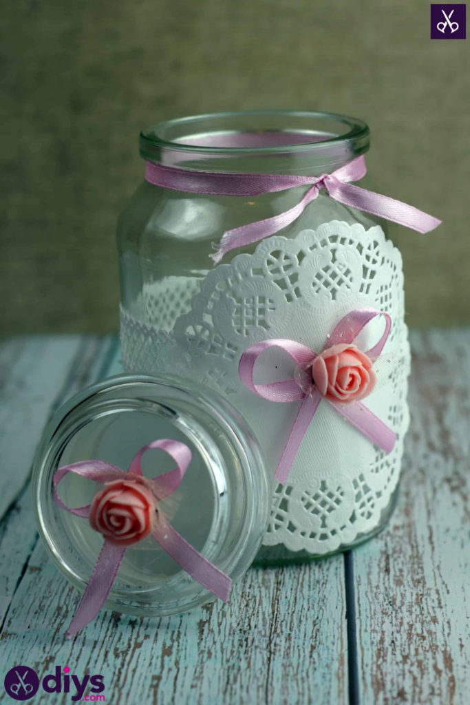 Mason jar centrepiece for weddings diy
