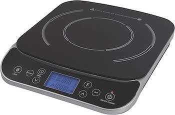 Max burton digital lcd 1800w induction cooktop countertop burner