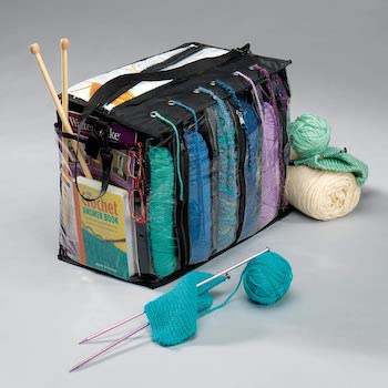 Miles kimball square tots with yarn feeders