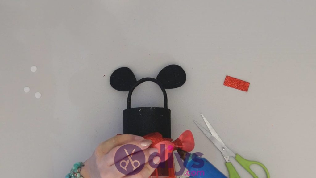 Minnie mouse tin can container step 14ac