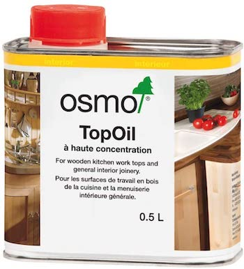 Osmo clear matte top oil