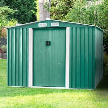 Pataku jumbp steel backyard storage shed
