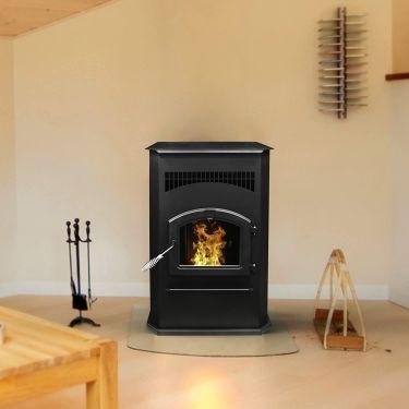 Pleasant hearth pellet stove
