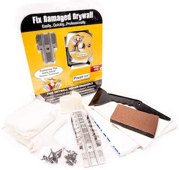 Prest on all in one drywall repair kit