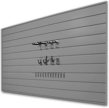 Proslat slatwall panels and hook kit