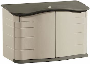 Rubbermaid small horizonal shed