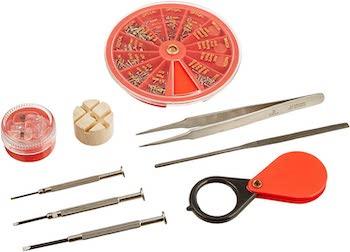 Se classic eyeglass and watch repair kit