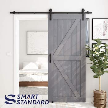 Smart standard 36in x 84 in sliding barn door