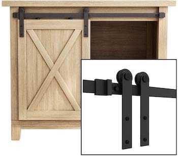 Smart standard 3ft barn door track kit