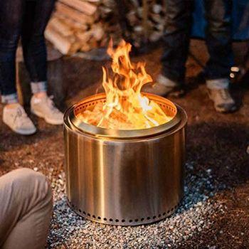Solo stove bonfire fire pit large 19 5 inch