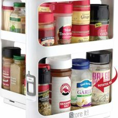 Store It! Cabinet Caddy modular rotating spice rack