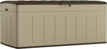 Suncast 99 gallon large deck box