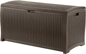 Suncast basket weave deck box