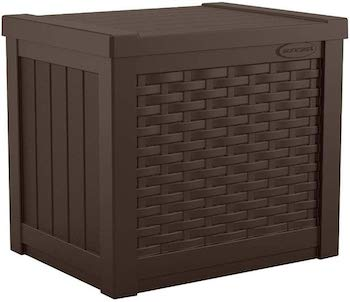 Suncast small, lightweight resin woven guestbox