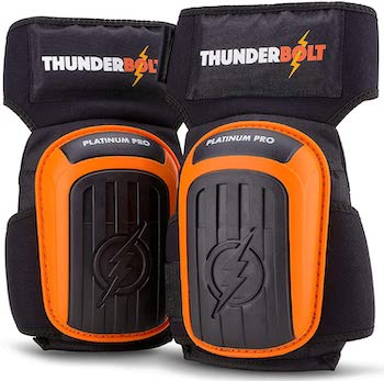 Thunderbolt construction knee pads
