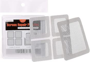 By rho window and door screen repair patch kit