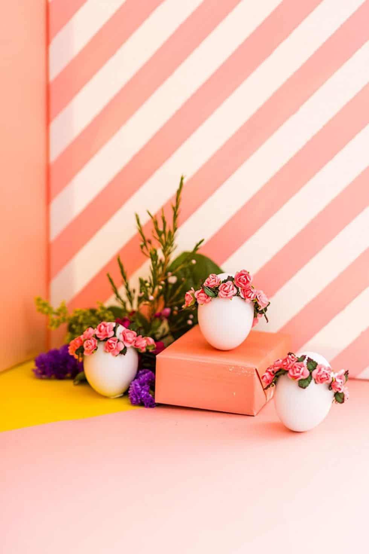 Flower crown eggs