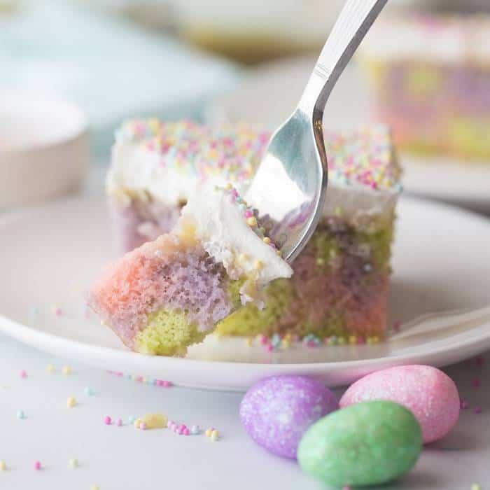 Pudding poke cake recipe