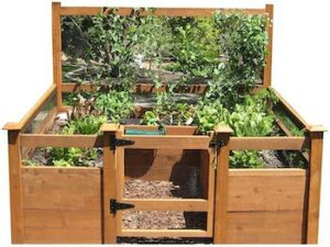 Just add lumber 8 x 8 vegetable garden kit