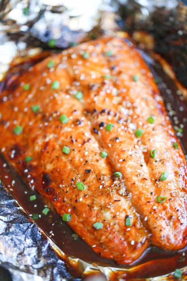 Asian salmon 30 minute recipe