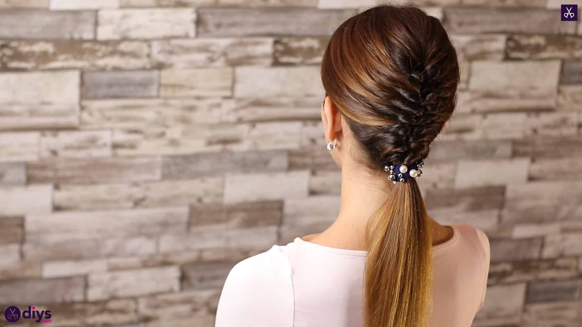 Beautiful and elegant hairstyle tutorial 7