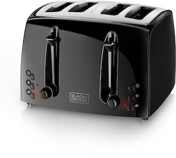Black + decker 4 slice extra wide toaster