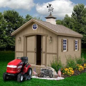 Cambridge style wood shed kit