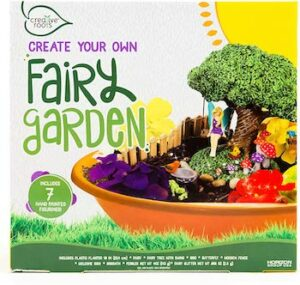 Create your own fairy garden kit